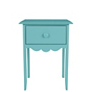 """Nellie"" End Table"