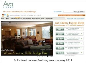Featured Interior Design on Ava Living